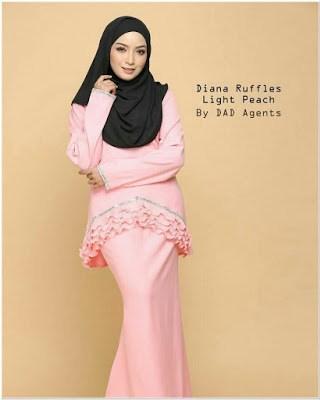 Gambar Baju Kurung Melayu Modern