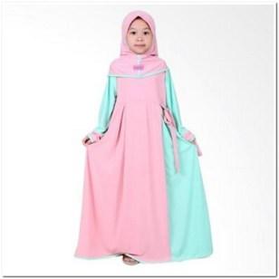 baju muslim anak perempuan 2018