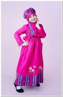 busana muslim anak perempuan lucu
