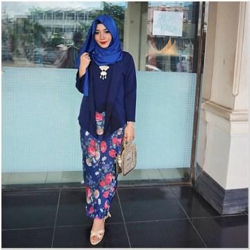 Contoh Baju kondangan hijab