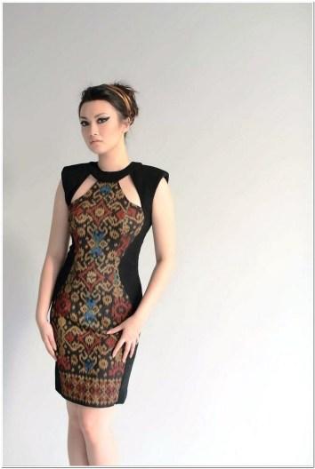 Dress batik untuk pesta terbaru