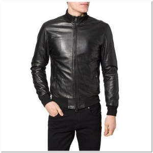 jaket kulit casual