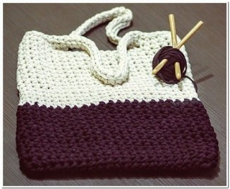 tas rajut branded Simple Wanita Untuk Jalan-Jalan 5