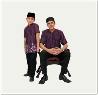 Baju koko kembaran anak dan ayah keren