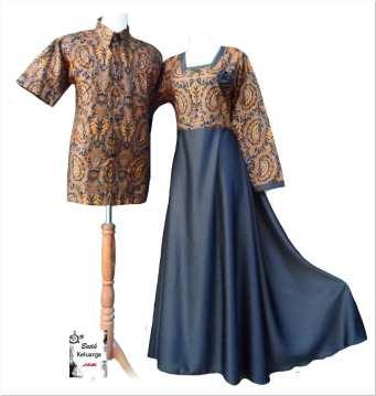 Contoh aneka model baju batik untuk pesta pernikahan