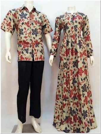 Model baju atasan motif batik untuk pesta pernikahan