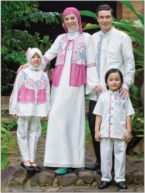 Contoh Model baju lebaran untuk satu keluarga