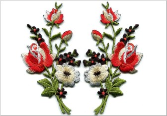 Kreasi Motif Bunga Mawar Yang Cantik