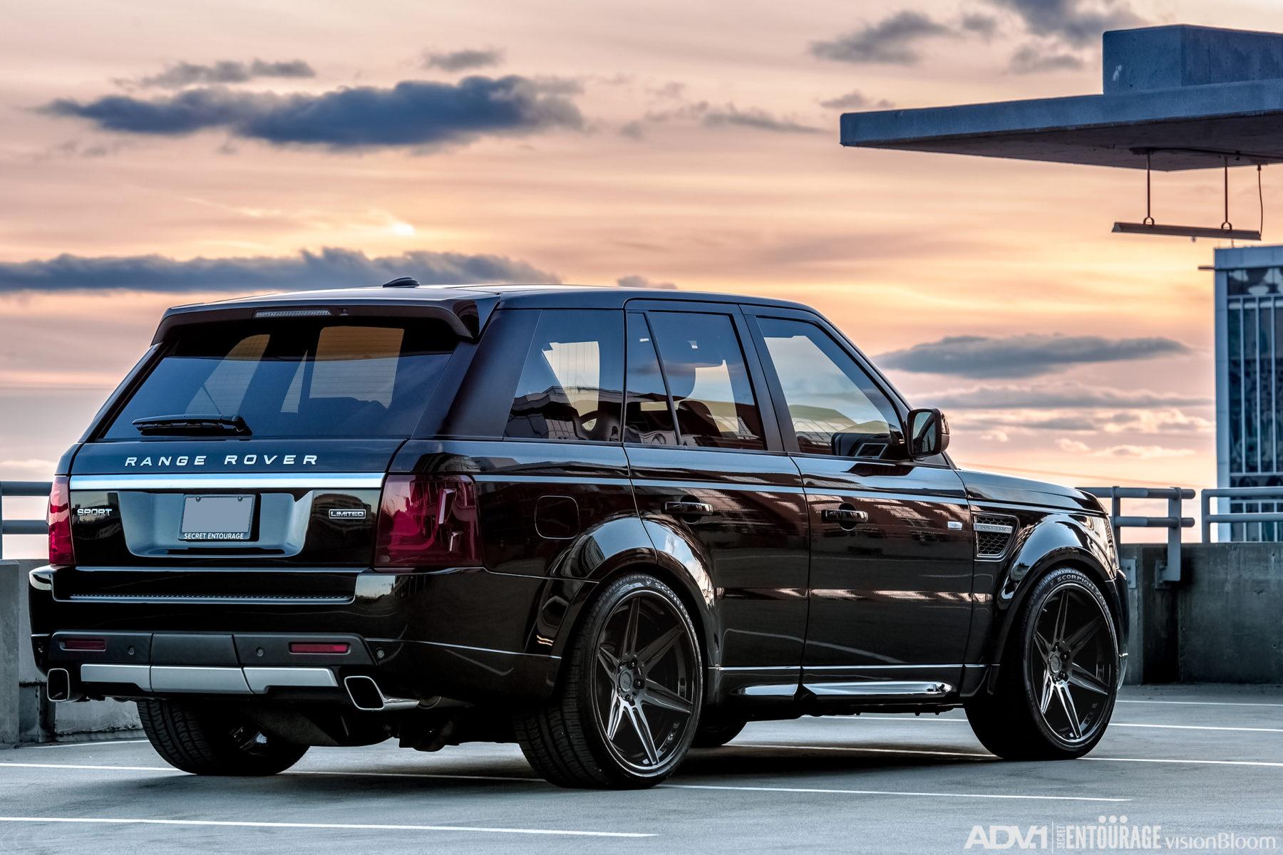 Black Range Rover Sport ADV6 Track Spec CS ADV 1 Wheels