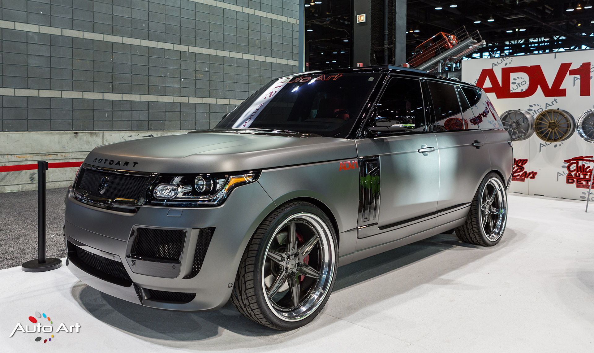 The Auto Art Takes Over The Chicago Auto Show ADV 1 Wheels