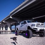 White Lifted Dodge Ram 2500 Adv08r Truck Spec Hd1 Wheels
