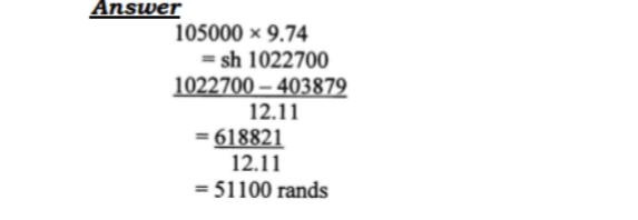 KCSE Mathematics Past Paper 1 2016: Free Revision 8