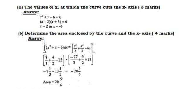 KCSE Mathematics Past Paper 2 2016: Free Tips 20