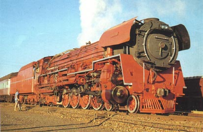 "Class 26 4-8-4 ""The Red Devil"" as originally rebuilt in 1982"