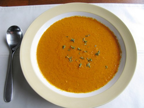Dr. Ettinger's Roasted Tomato, Red and Yellow Bell Pepper Soup