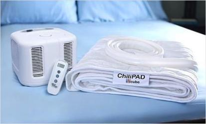 The Chilipad promotes healthy sleep