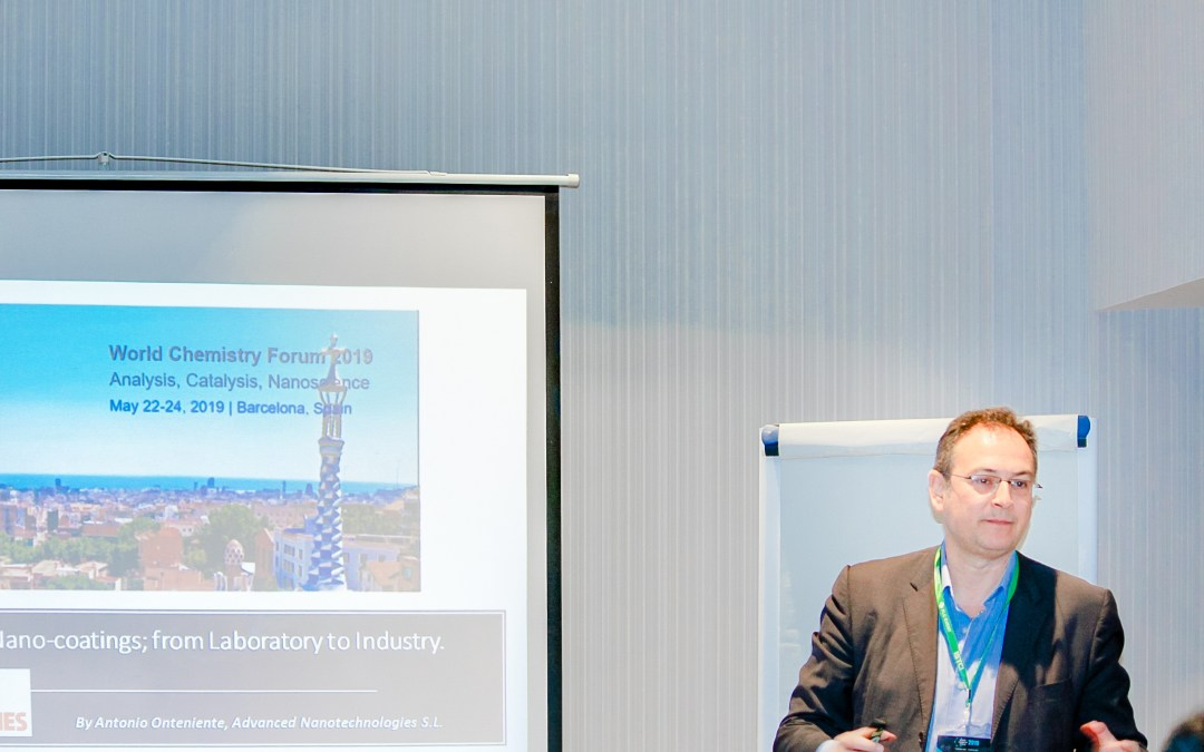 "Speech on World Chemistry Forum: ""Analysis, Catalysis, Nanoscience"""