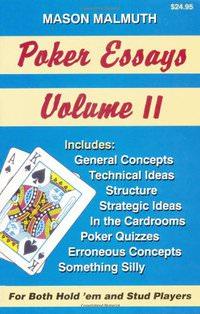Poker Essays, Volume II