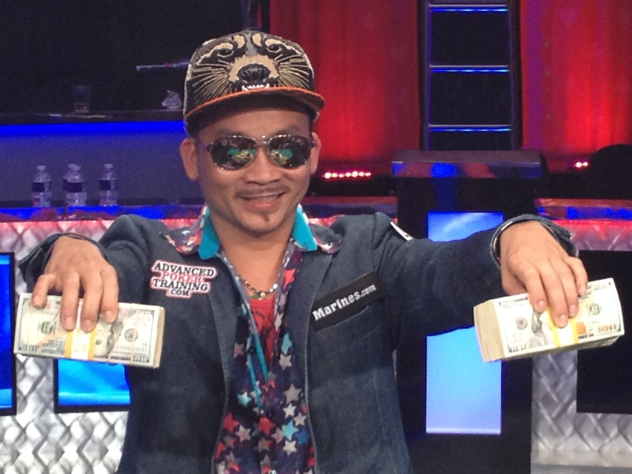 Main Event Champion Qui Nguyen
