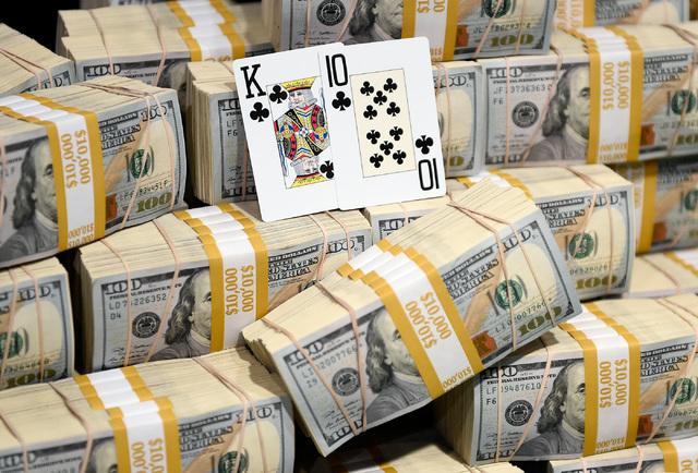 WSOP Money Pile