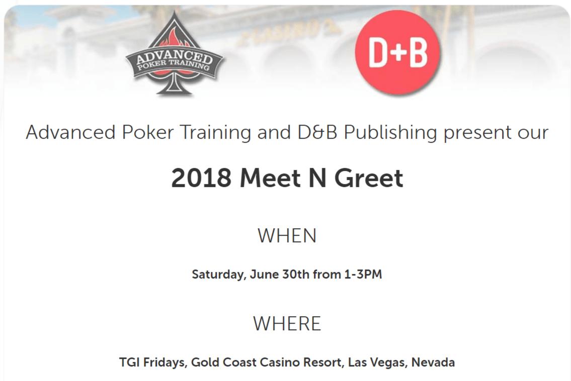 APT Las Vegas Meet N Greet