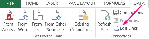 How to Apply Break Link in Excel_2