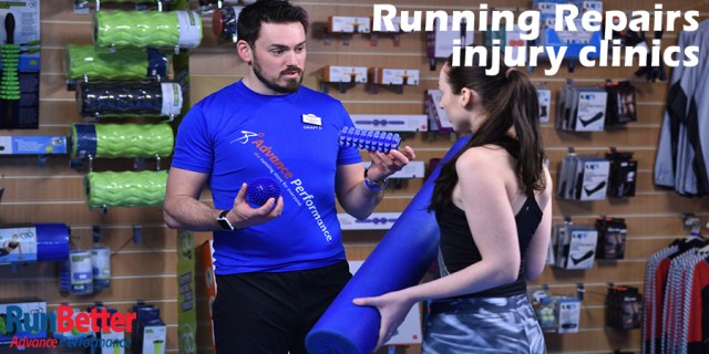 RunBetter Running Repairs injury clinics