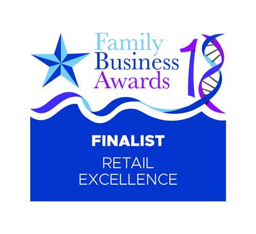 Family Business Awards Retail Excellence Finalist 2018