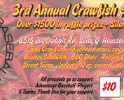 3rd Annual Crawfish Festival