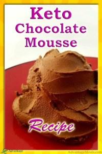 The Best Keto Avocado Mousse Dessert Recipe