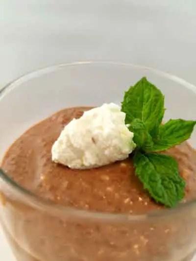 Chia Seed Ketogenic Dessert