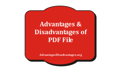 Pros and cons of PDF