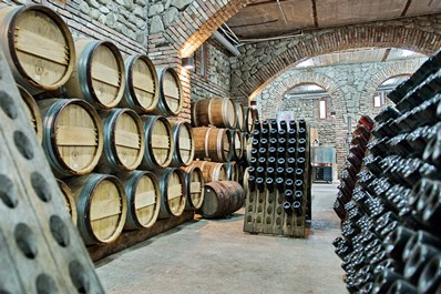 Wine cellar, Kakheti