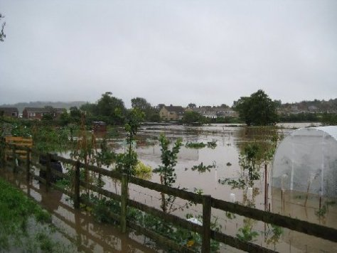 Flooding at Vearse Farm