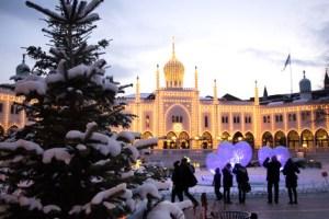 Julemarked i Liseberg, Göteborg