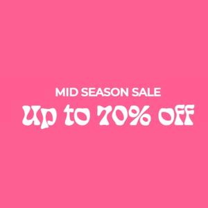 Nelly Mid Season Sale | Opptil 70% rabatt