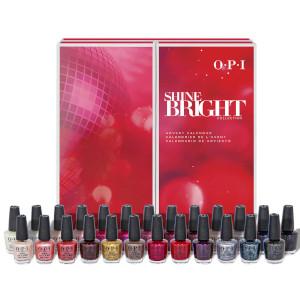 OPI Shine Bright Collection Nail Polish Julekalender