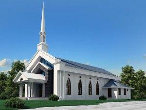 Septagon Seventh-day Adventist Church at Kowdiar, Trivandrum