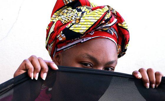 Maria (nome fictício) refugiada angolana, que chegou ao Brasil fugindo da perseguição em seu país