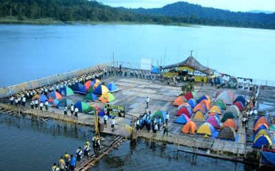Pathfinder Camporee held completely on water in Papua New Guinea (Photos)