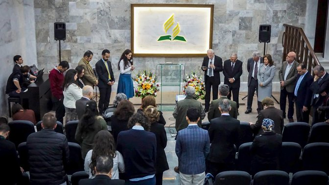 First Adventist church building inaugurated in Erbil, Iraq