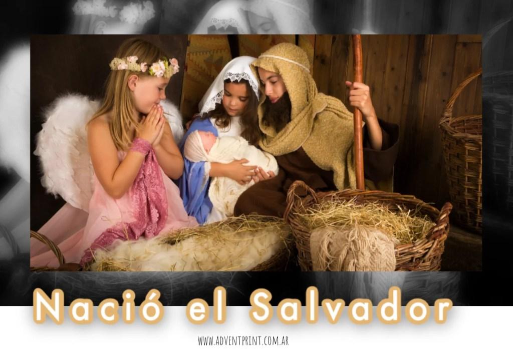 Nacio Jesus obra teatral navidad