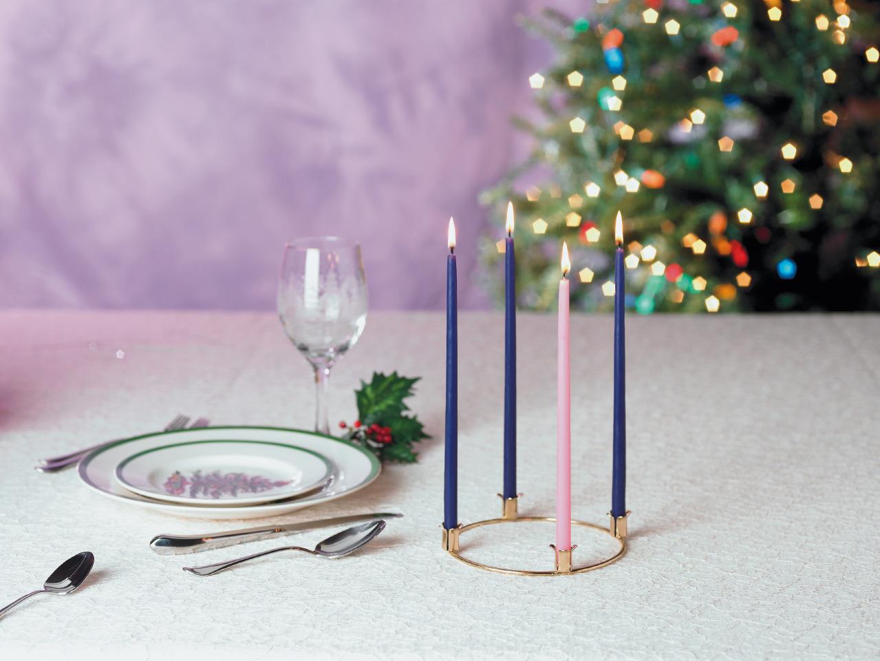 Advent Wreath Candle Set