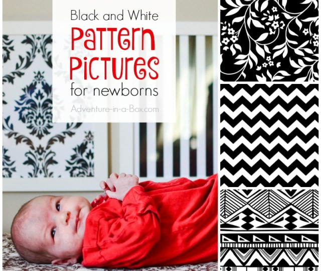 Black And White Pattern Pictures For Stimulating Babies Vision Download Free Printable Pictures For