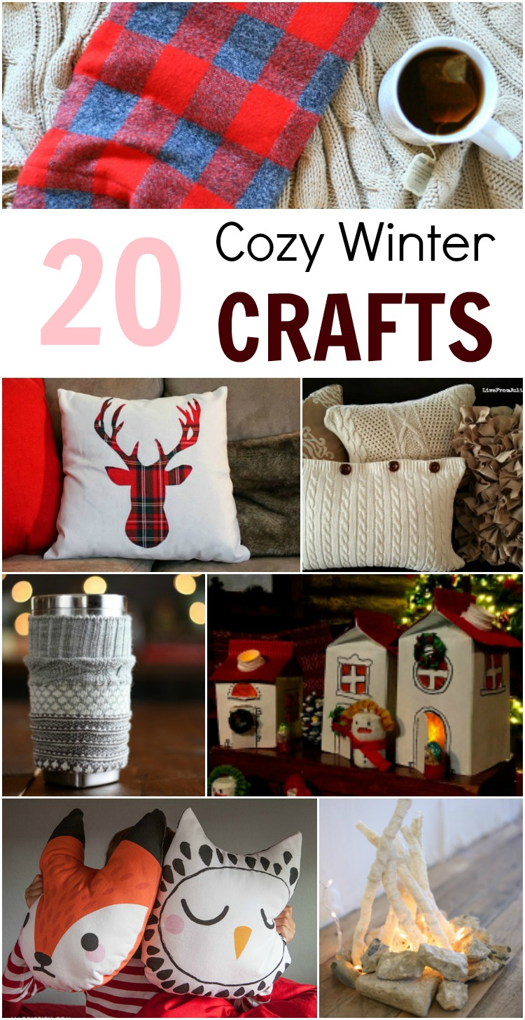 25 Diy Cozy Crafts To Make In The Winter Pin Adventure