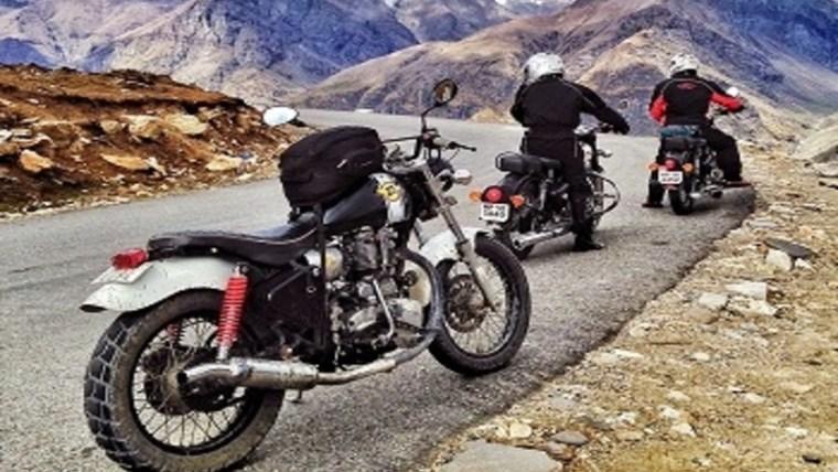 Leh Motorbike Tour in Summers