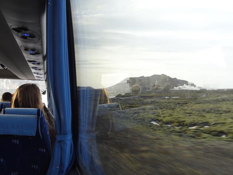 24 Hours in Reykjavik Bus Ride