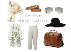 The Ultimate Holiday Travel Outfit