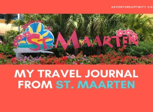 My Travel Journal from St. Maarten
