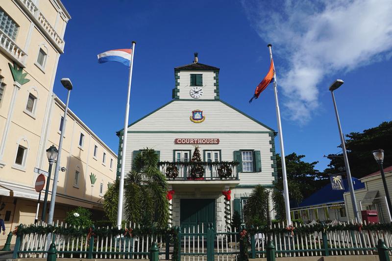 St. Maarten Courthouse
